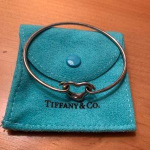 Tiffany & Co Open Heart Bangle Bracelet